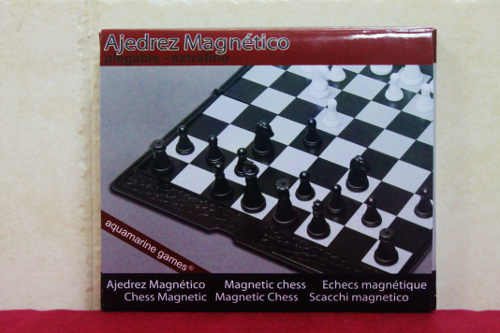 Tablero de ajedrez plegable extrafino