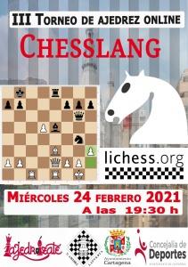 III Torneo Chesslang Cartagena